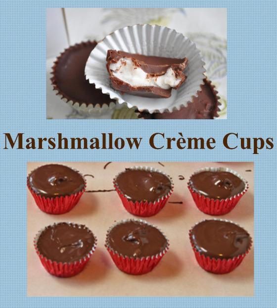 Kitsch Confections - Marshmallow Creme Cups in your choice of dark or milk chocolate